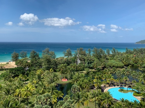 view from hilton phuket